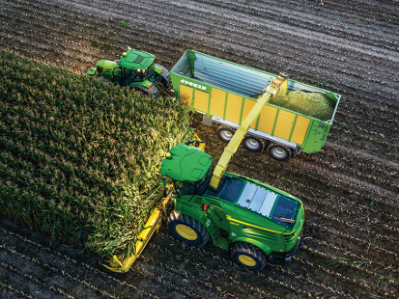 Combines and Foragers