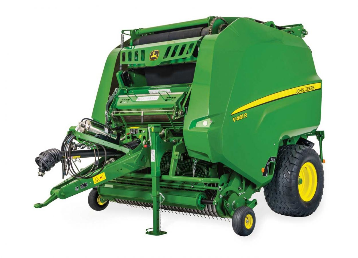 Variable Chamber Balers. Dedicated to Versatility.