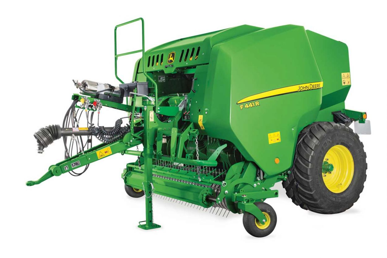 Fixed Chamber Balers. Built by the Voice of the Field.