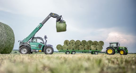 Kramer Introduce New Features To Telehandlers