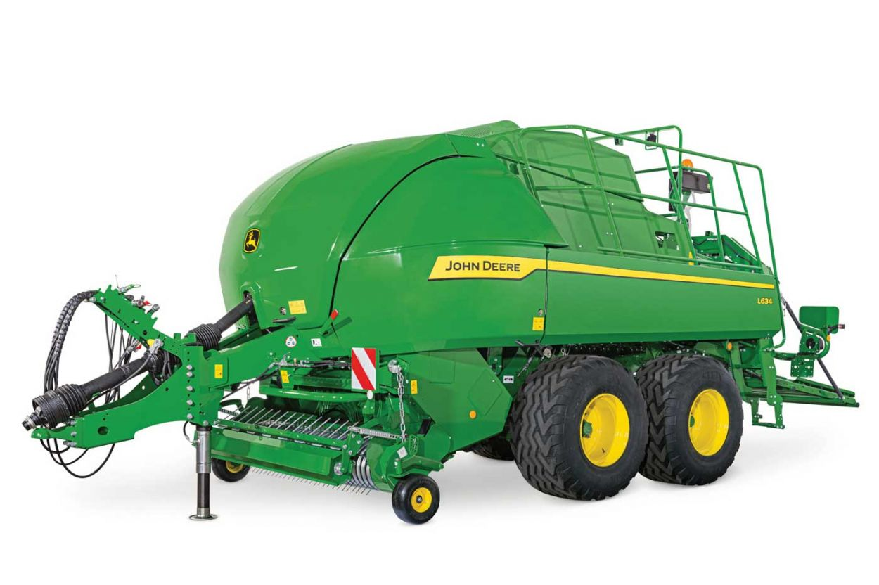 Large Square Balers. Great Bales Begin with a Great Baler.