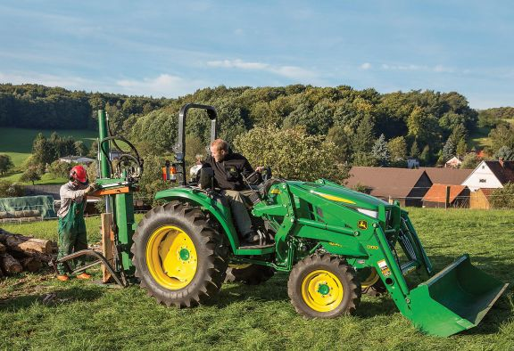 Spread the Cost of a new Compact Tractor