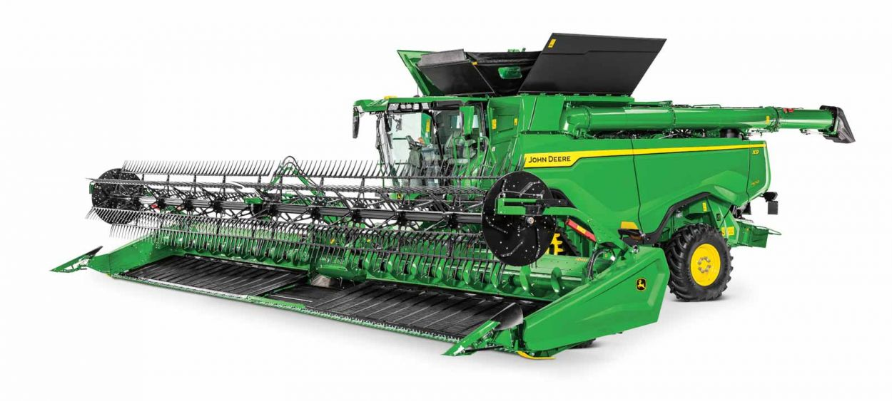 X9-Series. The 100 Tonne Combine.