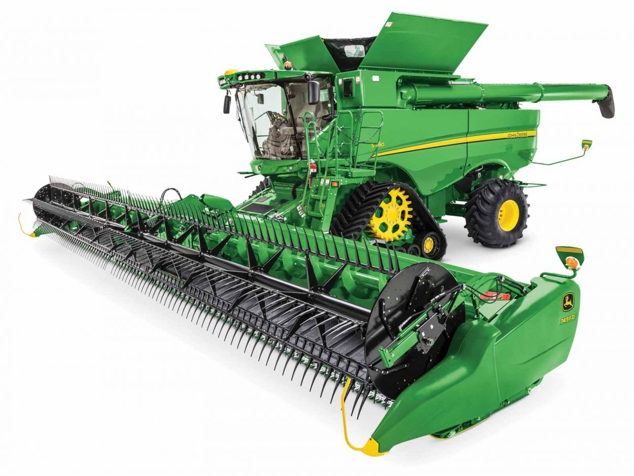 S-Series. The Automated Combine.